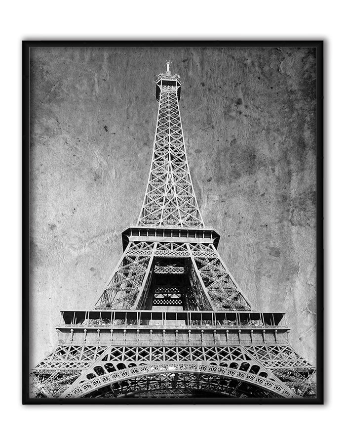 Eiffel Tower Retro, Canvas Canvas by Anon - FairField Art Publishing