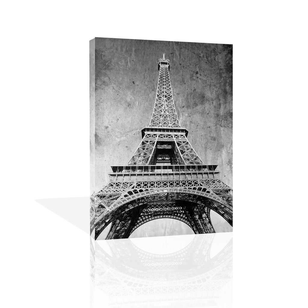 Eiffel Tower Retro Canvas Art by Anon - FairField Art Publishing
