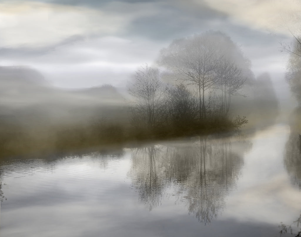 Sunrise Reflections II.-C Landscapes by Anon - FairField Art Publishing