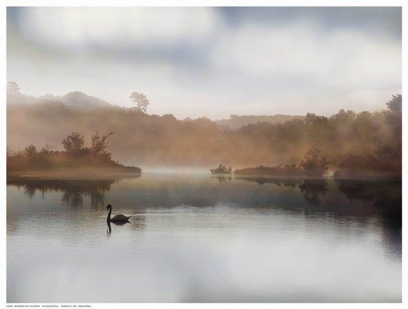 Morning on the River Landscapes by S. Rega - FairField Art Publishing