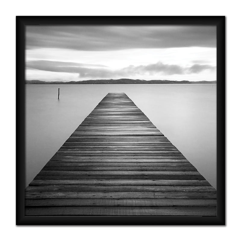 Evening Jetty Canvas Art by Anon - FairField Art Publishing