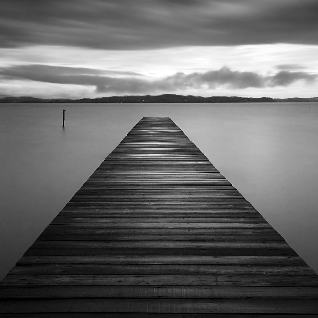 Evening Jetty by M. Mun - FairField Art Publishing
