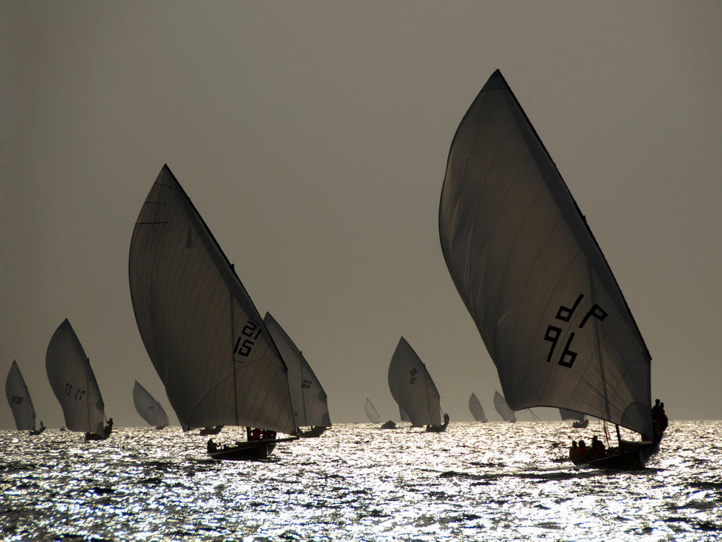 Sailboat Silhouette Posters by Y. Haider - FairField Art Publishing