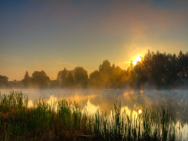 Canal Sunrise Photography by Anon - FairField Art Publishing
