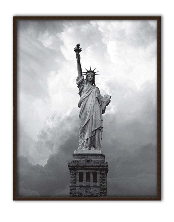 Majestic Lady Liberty Canvas Art by Anon - FairField Art Publishing