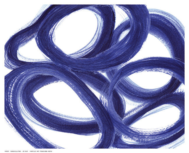 Indigo Ellipses by Inuit - FairField Art Publishing