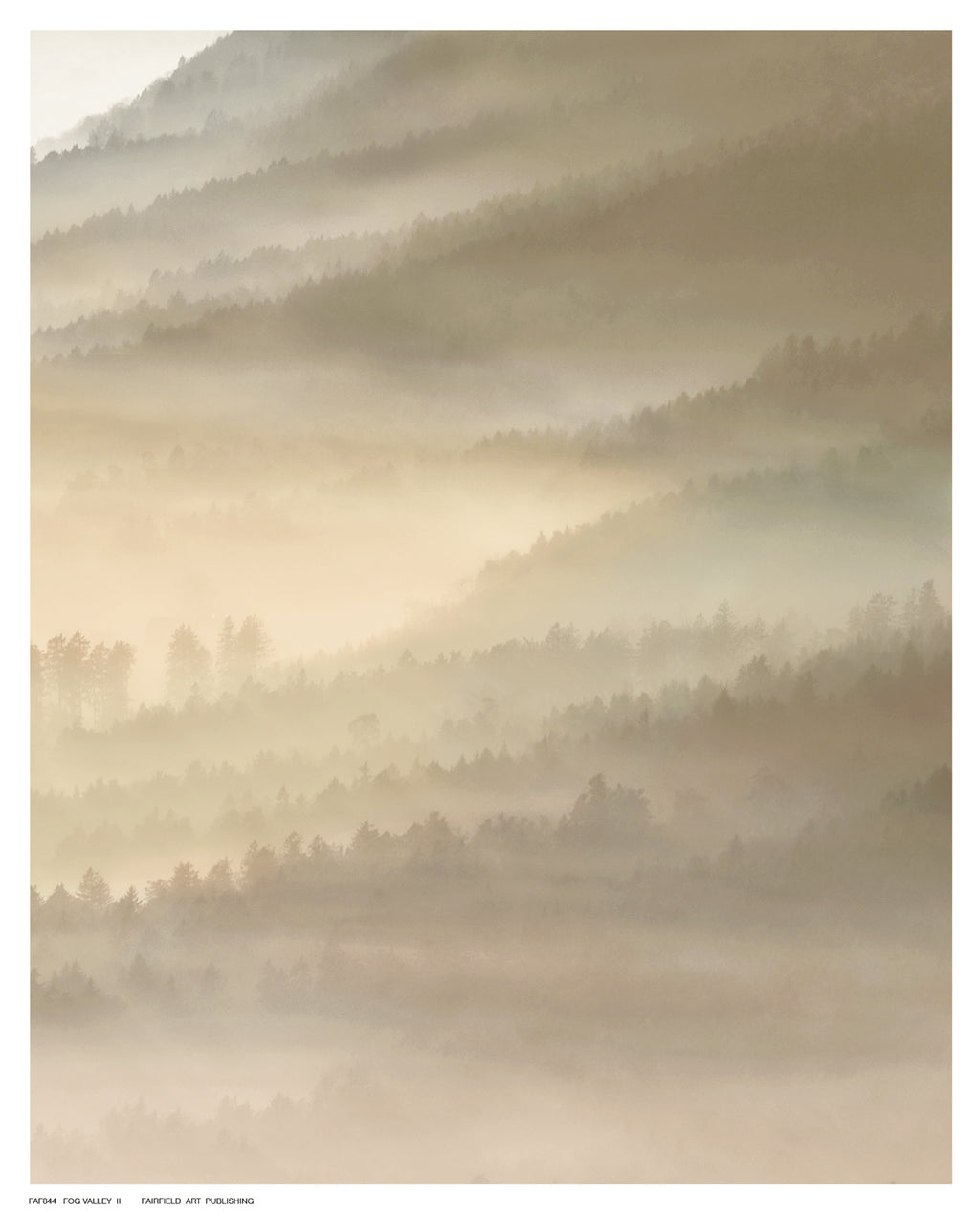 Fog Valley Il. Landscapes by Herzog - FairField Art Publishing