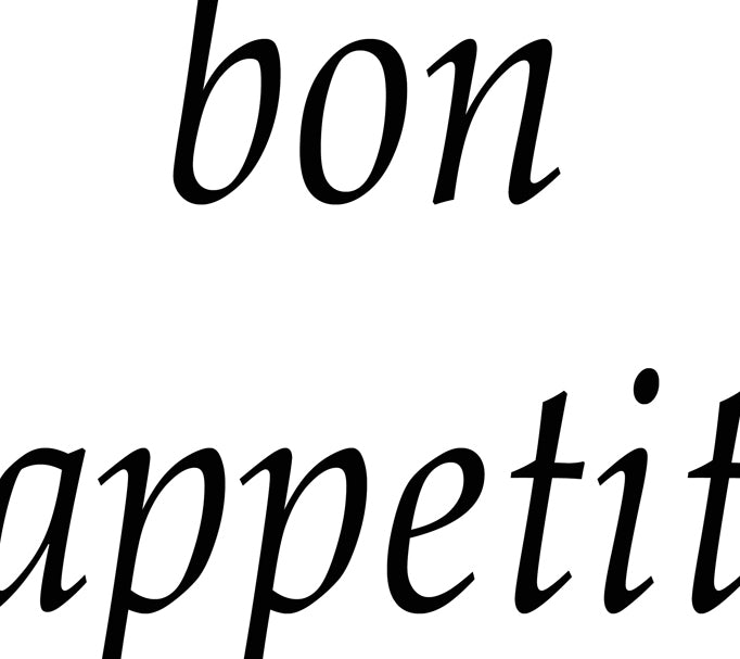 Bon Appetit by Anon - FairField Art Publishing