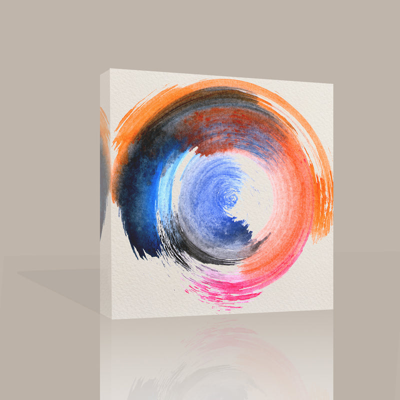 Circular Abstract Canvas Art by Anon - FairField Art Publishing