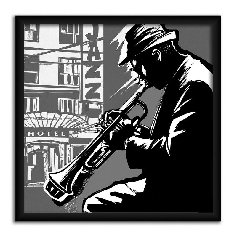 Smooth Jazz -  Canvas Canvas by Anon - FairField Art Publishing