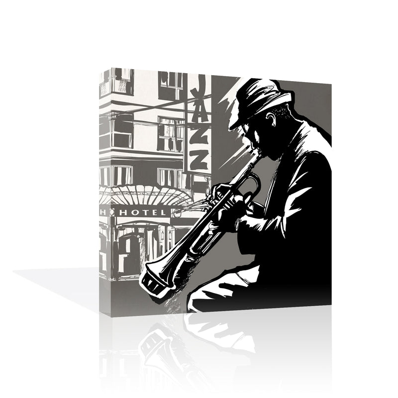 Smooth Jazz Canvas Art
