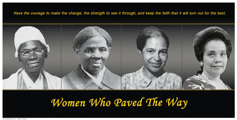 Women Who Paved The Way Posters by Anon - FairField Art Publishing