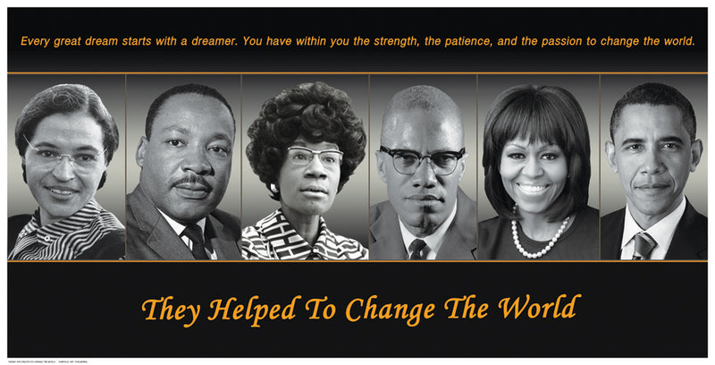 They Helped To Change The World Posters by Anon - FairField Art Publishing