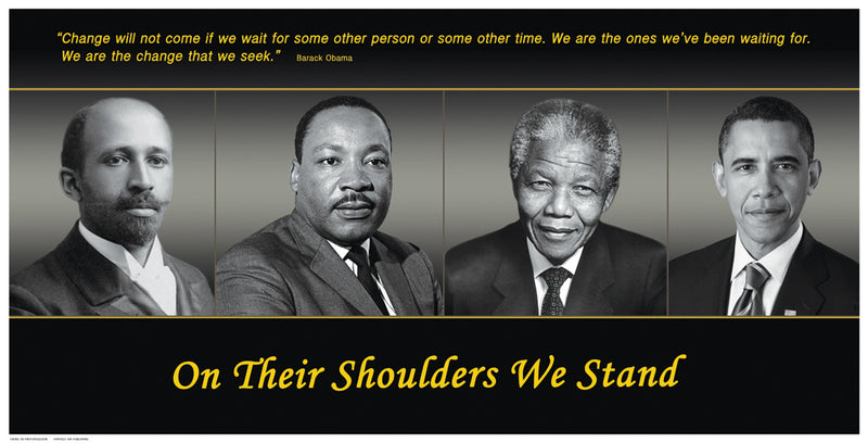 On Their Shoulders We Stand Posters by Anon - FairField Art Publishing