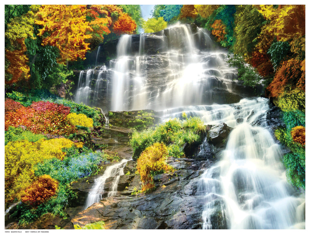 Majestic  Falls Decorative by Anon - FairField Art Publishing
