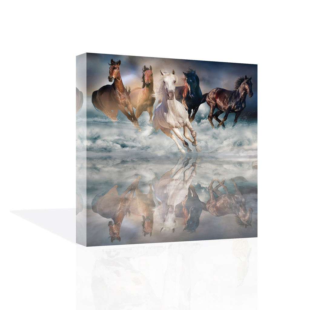 Herd Run Canvas Art by Svetlana - FairField Art Publishing