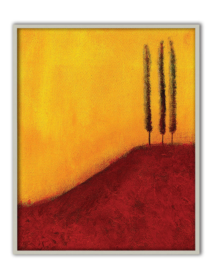 Trees on a Hill Canvas Art