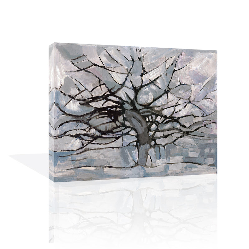 Grey Tree Abstract, Canvas Canvas by Anon - FairField Art Publishing