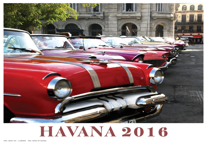 Havana II, 2016 by Kristin Lowenkron - FairField Art Publishing