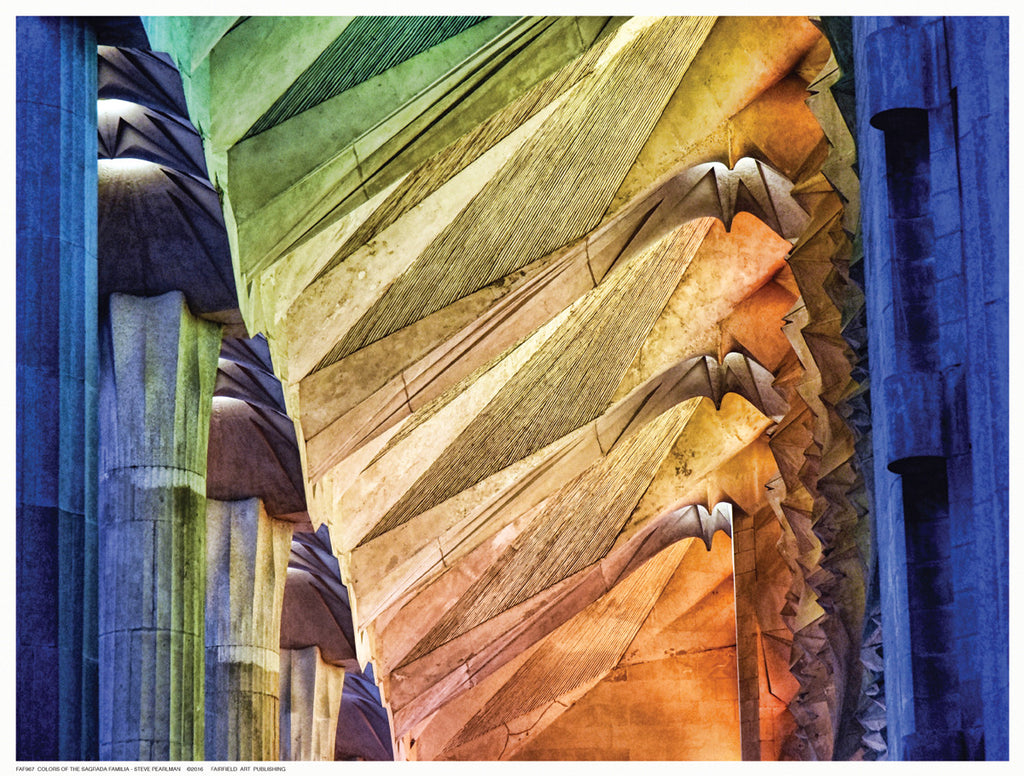 Colors of the Sagrada Familia