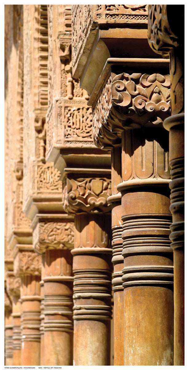 Alhambra Pillars Posters by Steve Pearlman - FairField Art Publishing