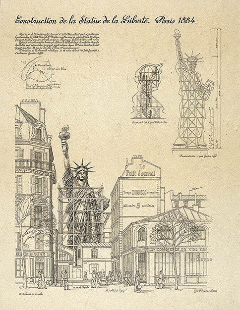 Statue of Liberty, Paris Posters by Yves Poinsot - FairField Art Publishing