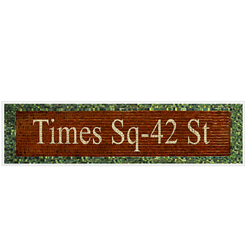 Times Square - 42nd Street Subway Sign Posters by Phil Maier - FairField Art Publishing