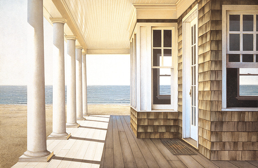 Hampton Porch Coastal by Daniel Pollera - FairField Art Publishing