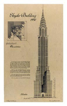 Chrysler Building Architecture by Yves Poinsot - FairField Art Publishing