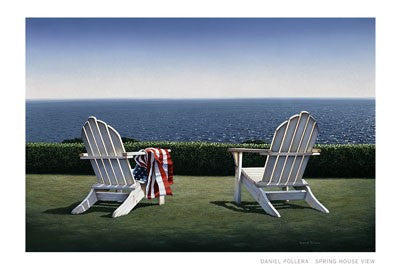 Spring House View Coastal by Daniel Pollera - FairField Art Publishing