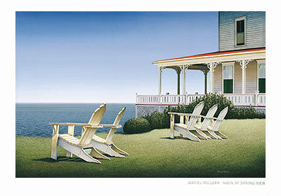 Noon at Spring View Coastal by Daniel Pollera - FairField Art Publishing