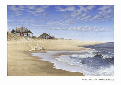 Hampton Beach by Daniel Pollera - FairField Art Publishing