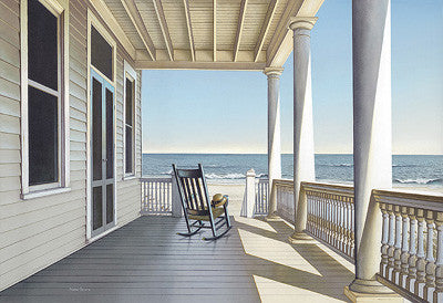 Carolina Porch Coastal by Daniel Pollera - FairField Art Publishing