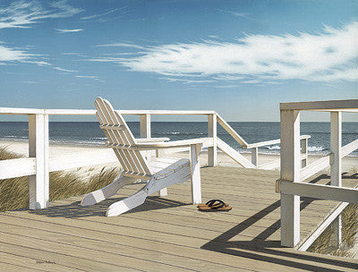 Sun Deck Coastal by Daniel Pollera - FairField Art Publishing