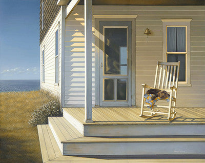 Afternoon Nap Coastal by Daniel Pollera - FairField Art Publishing