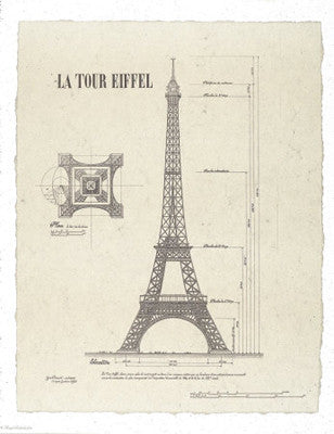La Tour Eiffel by Yves Poinsot - FairField Art Publishing