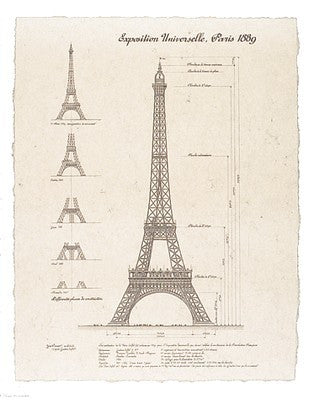 Exposition, Paris 1889 (Eiffel Tower)