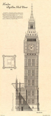 Big Ben, Clock Tower Architecture by Yves Poinsot - FairField Art Publishing