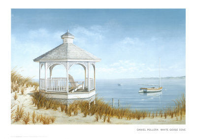 White Goose Cove Posters by Daniel Pollera - FairField Art Publishing