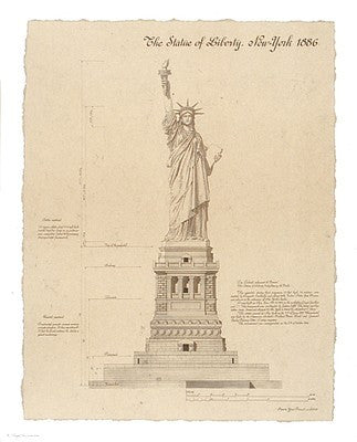 Statue of Liberty, New York Posters by Yves Poinsot - FairField Art Publishing