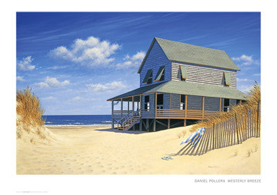 Westerly Breeze Coastal by Daniel Pollera - FairField Art Publishing
