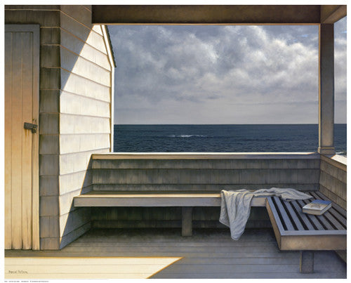 Sea Bench Coastal by Daniel Pollera - FairField Art Publishing