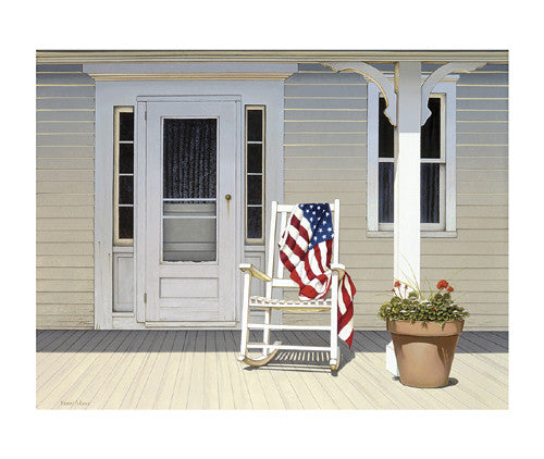 American Porch Coastal by Daniel Pollera - FairField Art Publishing