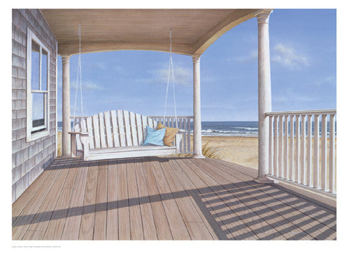 The Porch Swing Coastal by Daniel Pollera - FairField Art Publishing