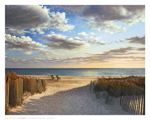 Sunset Beach Coastal by Daniel Pollera - FairField Art Publishing