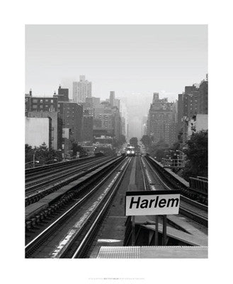 Next Stop Harlem Posters by Ellen Fisch - FairField Art Publishing