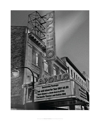 Twilight at the Apollo, Harlem Posters by Ellen Fisch - FairField Art Publishing