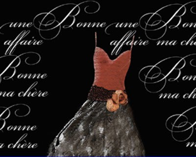 Robe de Soiree de Sienna Posters by Anon - FairField Art Publishing