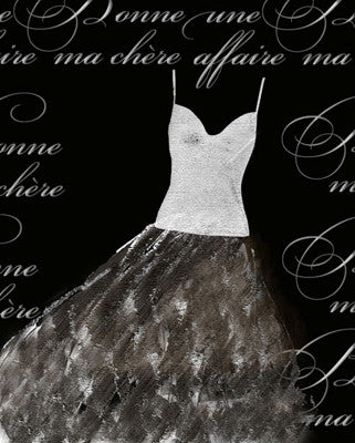 Robe de Soiree Blanche Posters by Anon - FairField Art Publishing