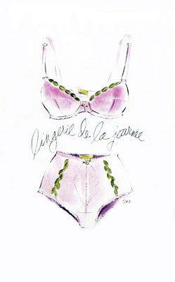Lingerie de la Journee by Tina Amico - FairField Art Publishing